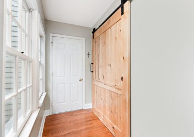 Home Remodeling Contractors Residential Construction - Sliding Barn Door Install