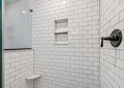 local bathroom contractors chester county pa - example of subway tile shower
