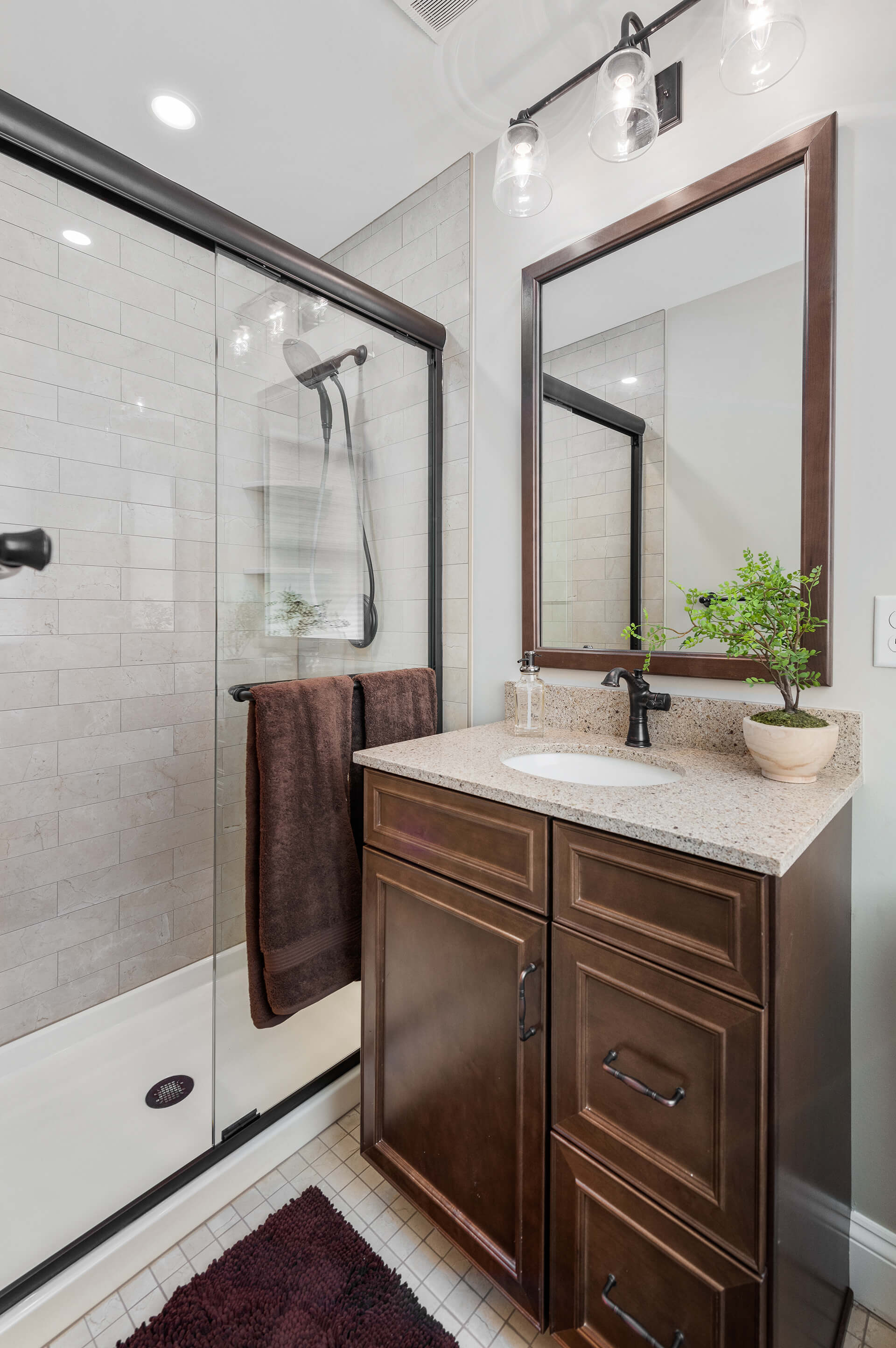 Powder Room Home Renovation